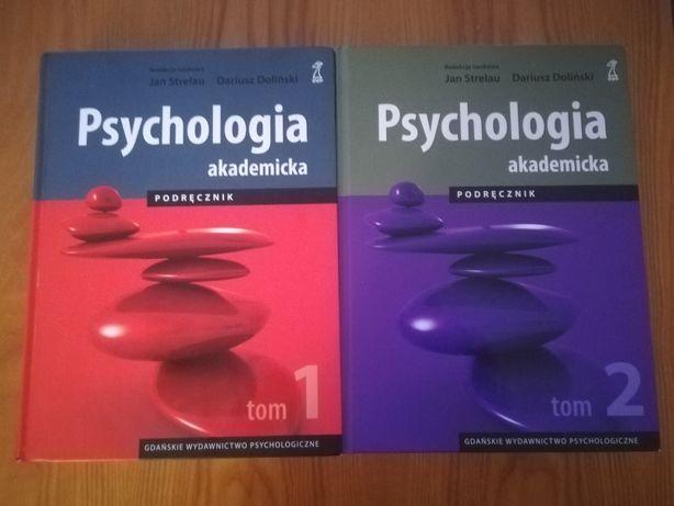 Psychologia akademicka. Podręcznik.  J. Strelau, D. Doliński Tom 1 i 2