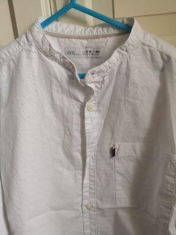 koszula biała Zara rozmiar 152 chłopiec