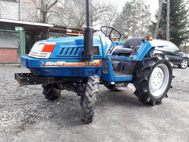 Glebogryzarka Yanmar 140cm Traktor Iseki 220 wspomaganie