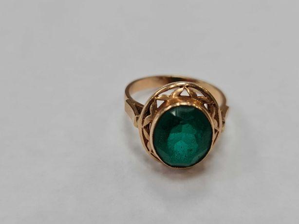Warmet! Piękny złoty pierścionek/ 585/ 4.86 gram/ R15