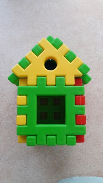Складной домик Пазл Конструктор Toys Plast