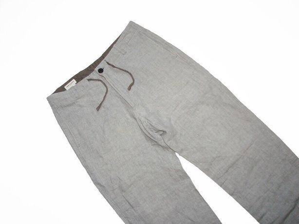 Льняные брюки dries van noten loro piana