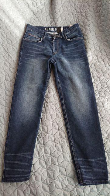Nowe jeansy dżinsy H&M rozm. 170 (bardziej 164) Super Soft Jogger