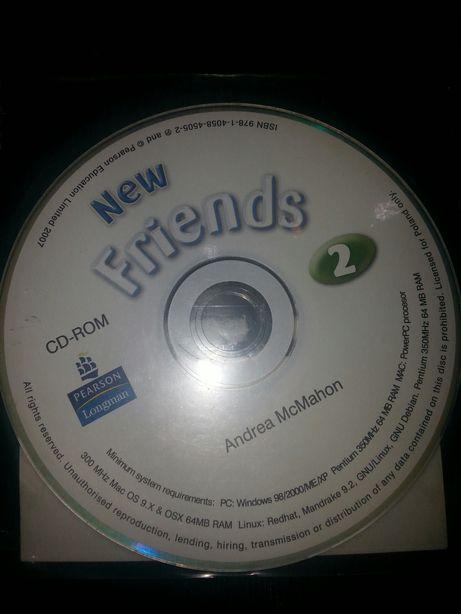 NOWA plyta CD do podręcznika New Friends 2