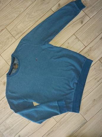 Niebieski sweterek bluza Xl
