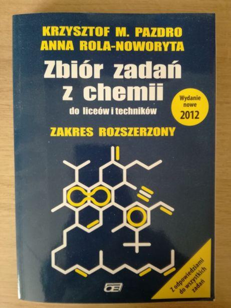 Nowy zbiór zadań z chemii - Krzysztof M. Pazdro, Anna Rola-Noworyta