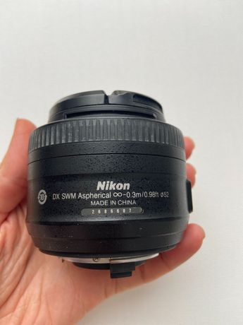 Объектив  Nikon f1.8 35 mm