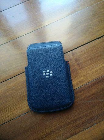 Bolsa em pele para Blackberry
