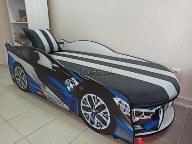 Ліжко машина з матрацом 180*80 см. Безкоштовна доставка.