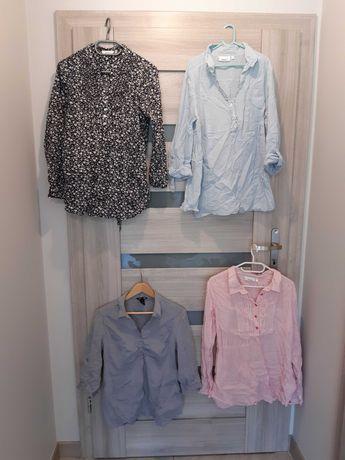 Cztery koszule ciążowe rozmiar M