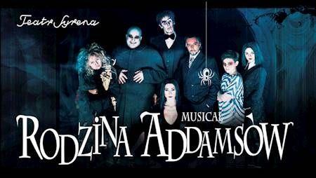 Rodzina Addamsów 2 bilety elektroniczne - Teatr Syrena Warszaws