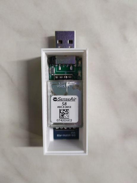 Zigbee Датчик Углекислого газа CO2, SenseAir S8, USB ( modkam.ru )