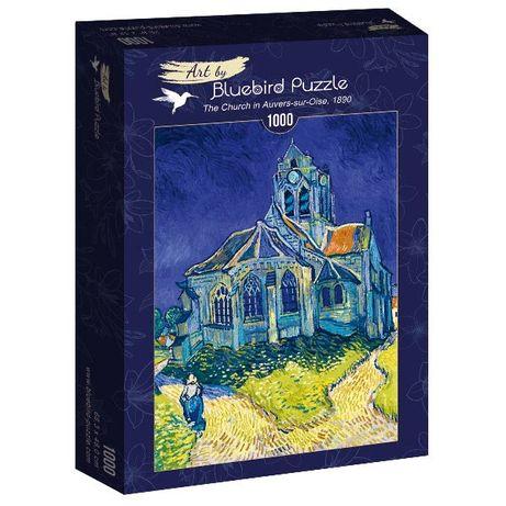 "Puzzle Bluebird 1000 Peças 60089 V. Van Gogh "" The Church"" - NOVO"