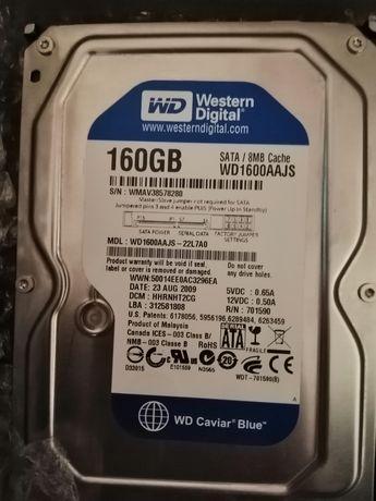 Срочно!!! Жёсткий диск WD 160 GB