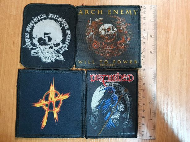 Naszywki metal/anarchy