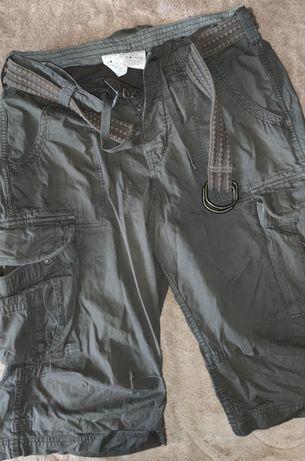 Продам шорты карго  с поясом,цвет  кофейный,размер 34