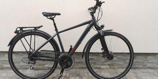 """Jak Nowy rower trekking Cube 27"""" rama 18"""" Acera"""
