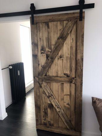 Drzwi przesuwne loftowe Barn Doors