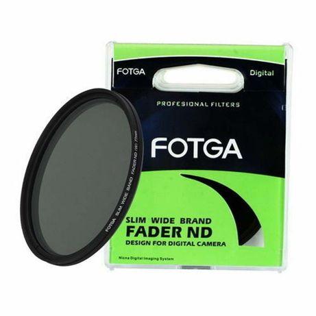Фильтр 40.5мм переменной плотности Нейтрально-серый Fotga ND2-ND400
