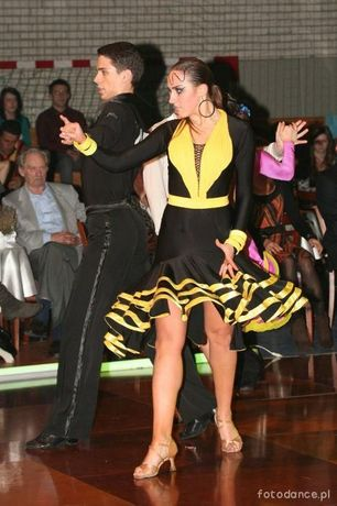 sukienka taneczna latynoamerykańskie LA na sprzedaż !