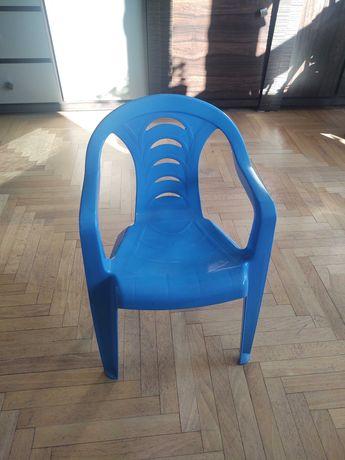 Krzesełko plastikowe dziecięce