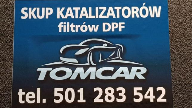 skup katalizatorów filtrów dpf najlepsze ceny!!  DOJAZD