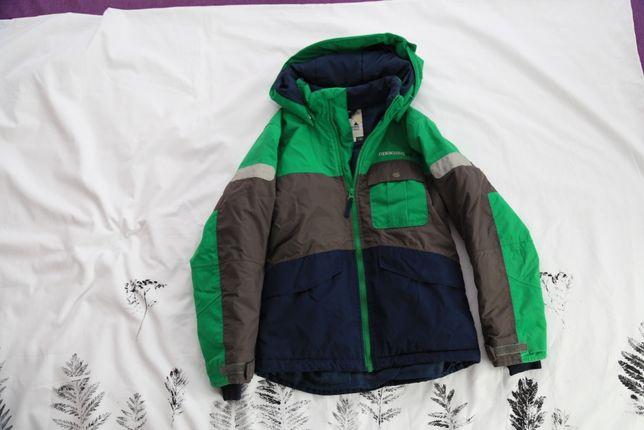 Didrickson kurtka zielona zimowa rozm 130cm