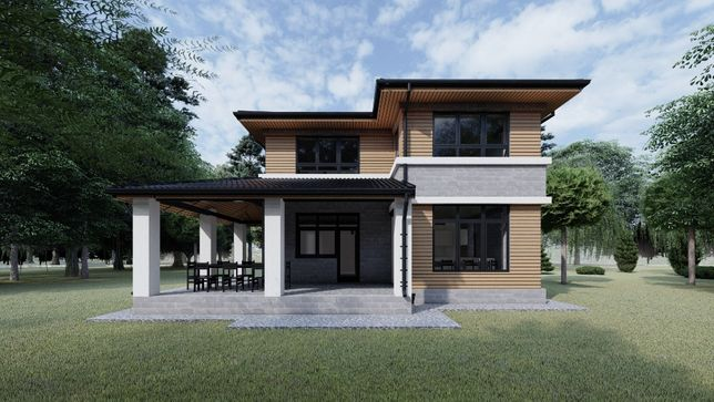 Готовый проект дома 3000 грн TS-project