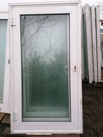 Okno aluminiowe 88 x 160 używane 90 x 160