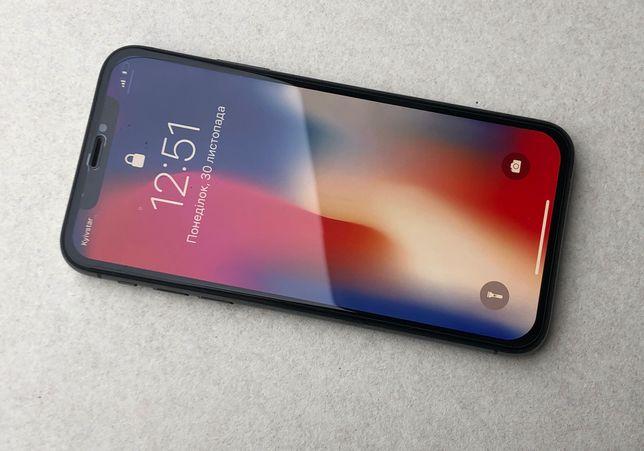 Apple Iphone X 64 gb Space Gray Neverlock 100 % оригинал