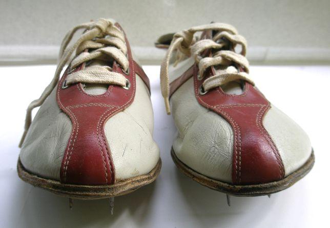 Шиповки легкоатлетические кожаные советские