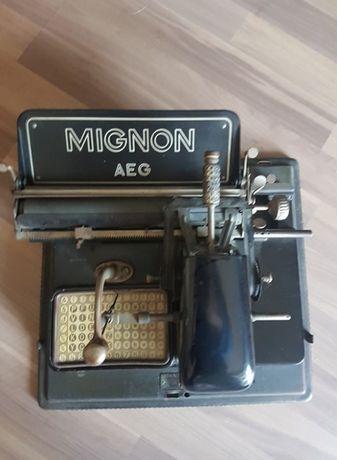 Maszyna do pisania MIGNON AEG antyk