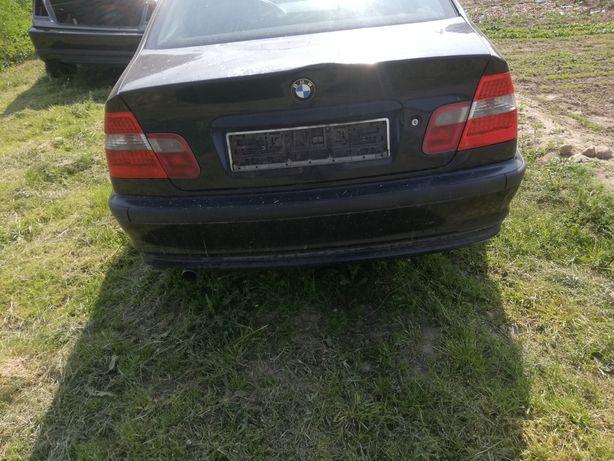 Zderzak tył bmw e46 sedan Orientblau