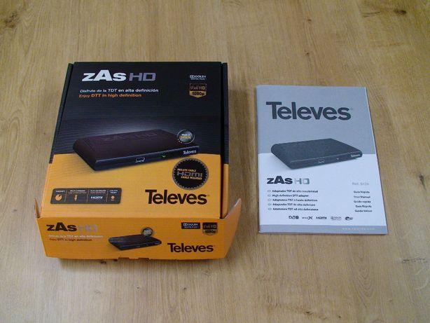 = Dekoder telewizji naziemnej DVB-T Televes zAs HD =