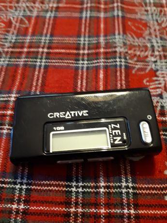 Плеер диктофон mp3 мп3 Creative Zen, 1Gb