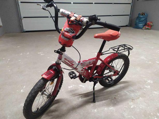 Rower dla chłopca  koła  16 cala.