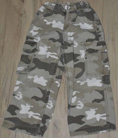 Spodnie MORO, bojówki, nieużywane, 5 lat