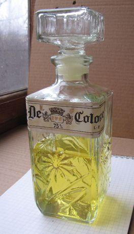 Винтажный раритетный мужской одеколон: Eau De Cologne R.A.S. 75% L. F.