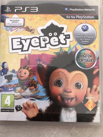 Jogo Eyepet para a playstation 3