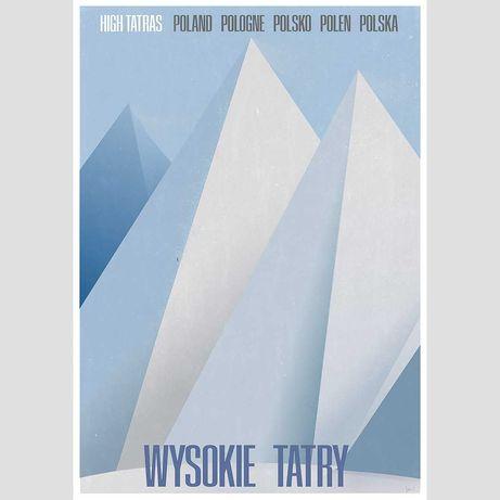 Wysokie Tatry grafika plakat