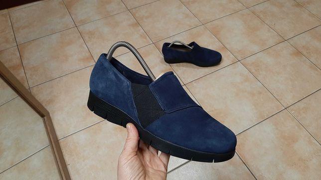 40-40,5р,26см,Замшевые туфли,ботинки,полуботинки Clarks (Кларкс)