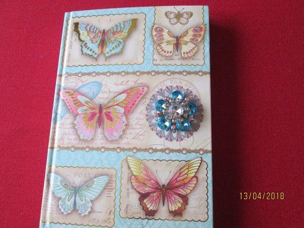 Pamiętnik,sekretnik,notatnik,nowy,zdobiony