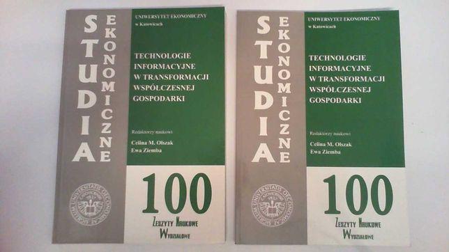 100 - Technologie informacyjne w transformacji wsp. gospodarki.