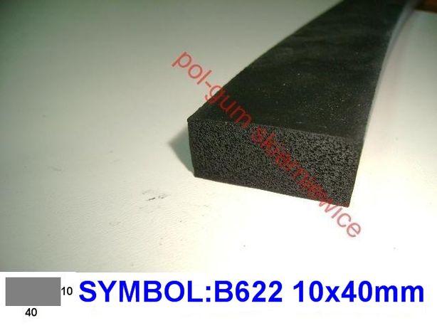 Uszczelka gumowa piankowa ,porowata, piankowa , płaskownik-B622