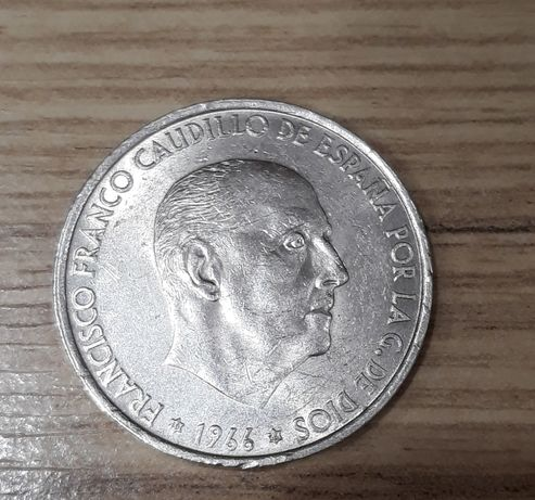 Серебро Испания монета