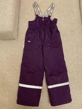 Продам зимний комбинезон штаны со спинкой Lenne 122