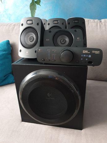 Logitech Z 906 zestaw 5.1 super stan ! Sorroud sound speaker system