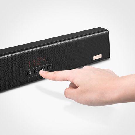 Alto-falante / barra de som 10 W 1200 mAH funciona com Blutooth