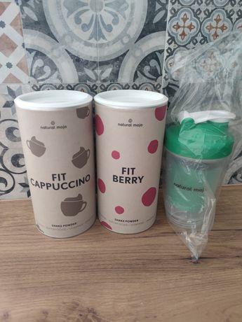 Natural mojo cappuccino, Berry + shaker