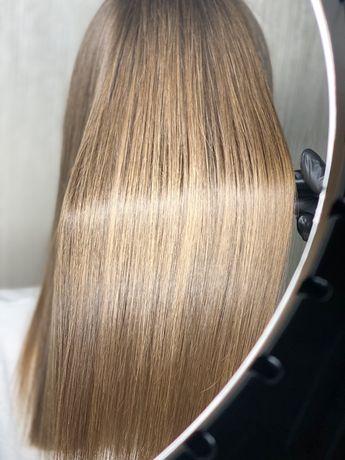 Кератиновое выпрямление|Ботокс волос| ст.м. Левобережная